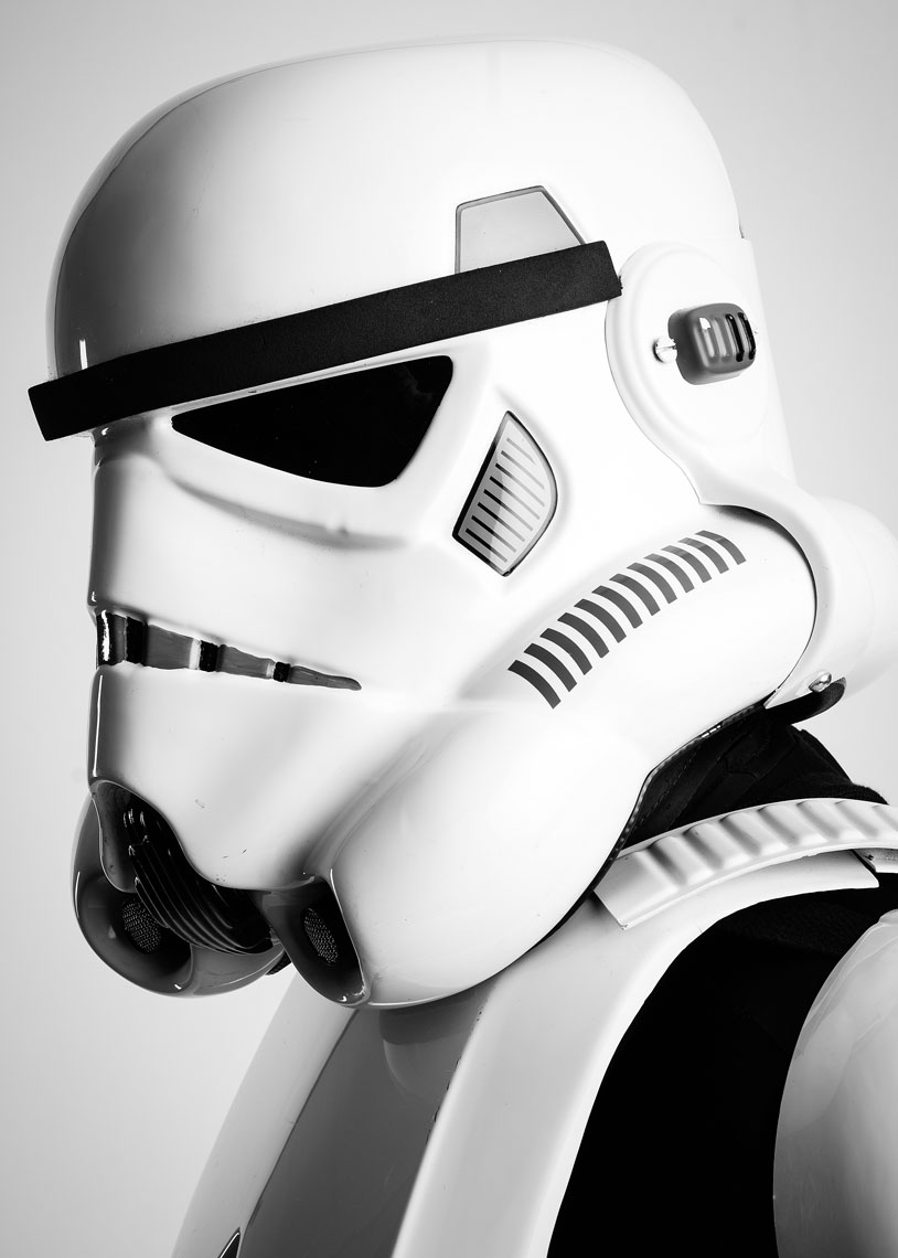 Star Wars Storm Trooper cosplay portrait