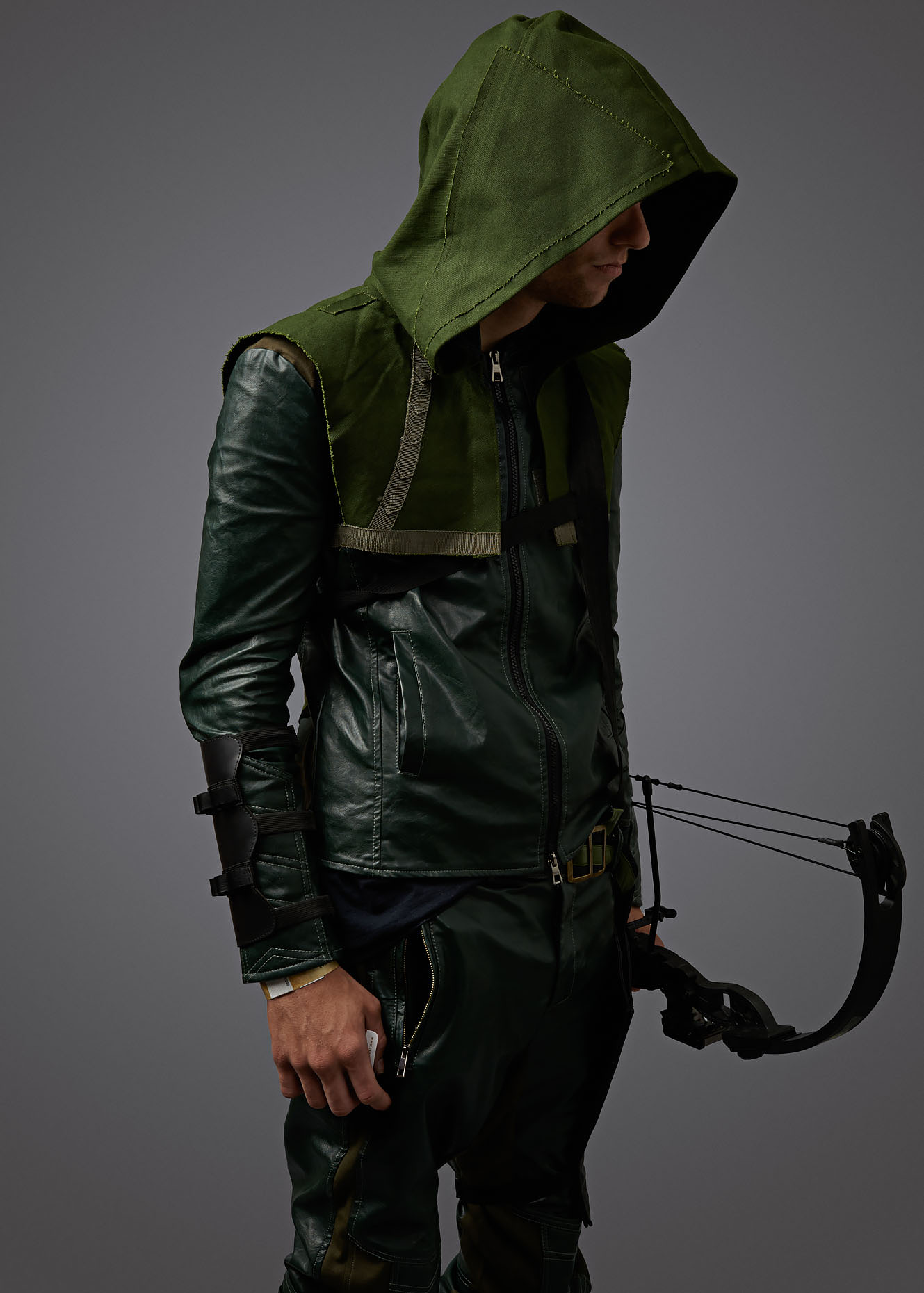 DC Arrow Cosplay Portrait