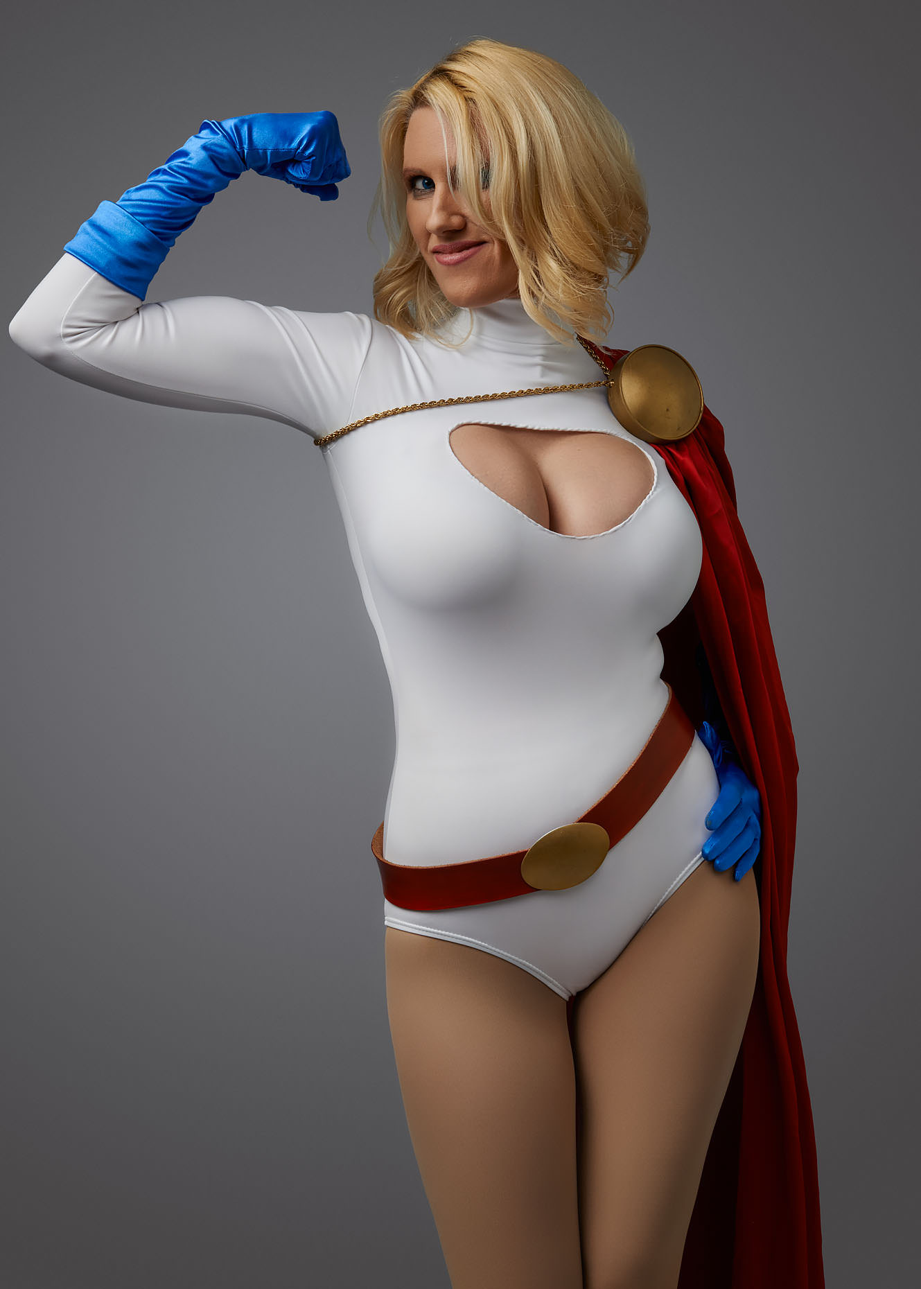 Powergirl Cosplay Portrait