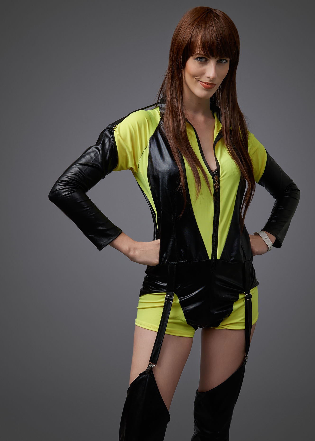 Watchmen Silk Spectre II Cosplay Portrait