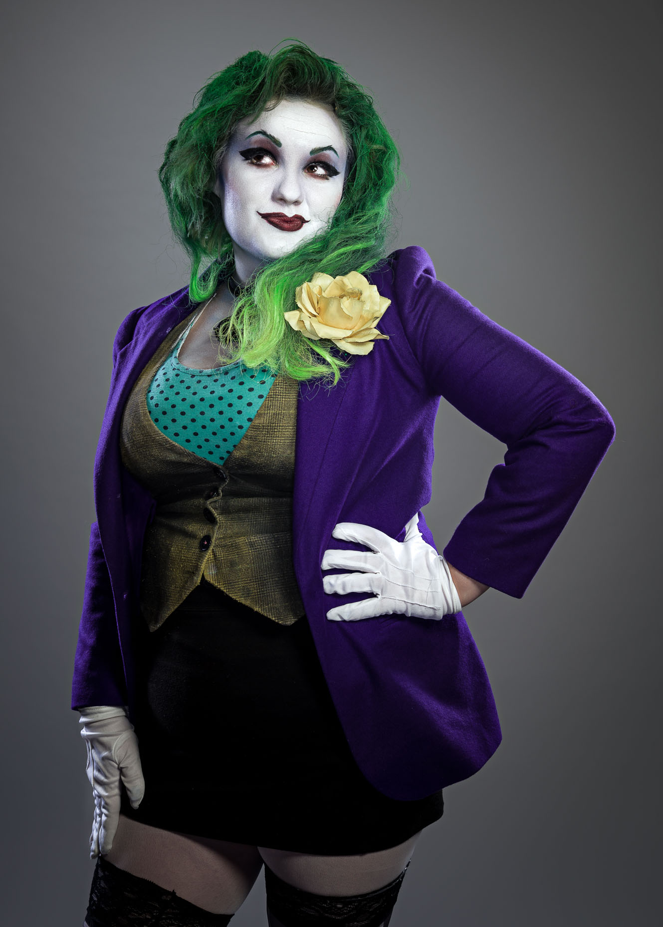 DC Batman Lady Joker Cosplay