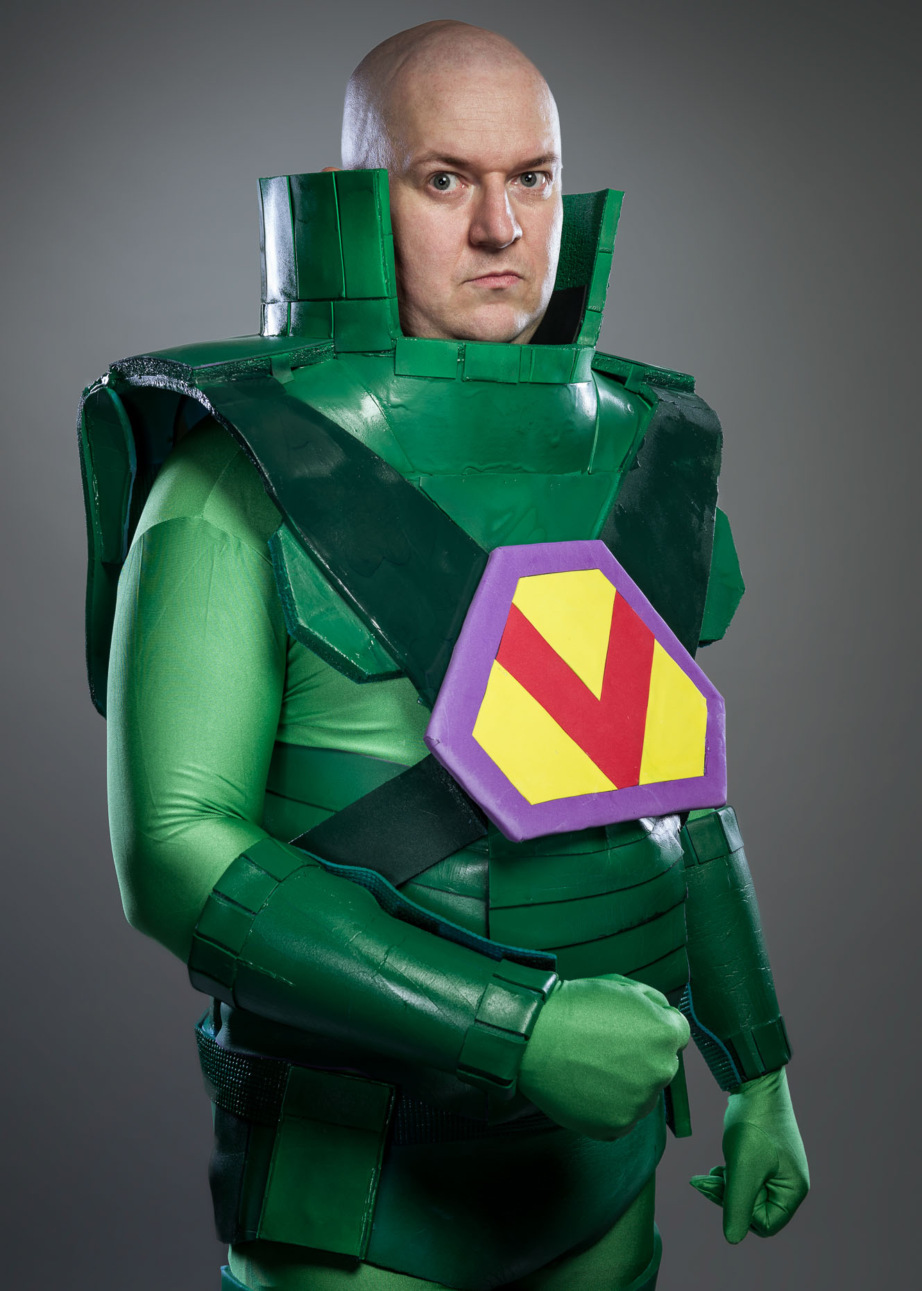 Lex Luthor Cosplay Portrait