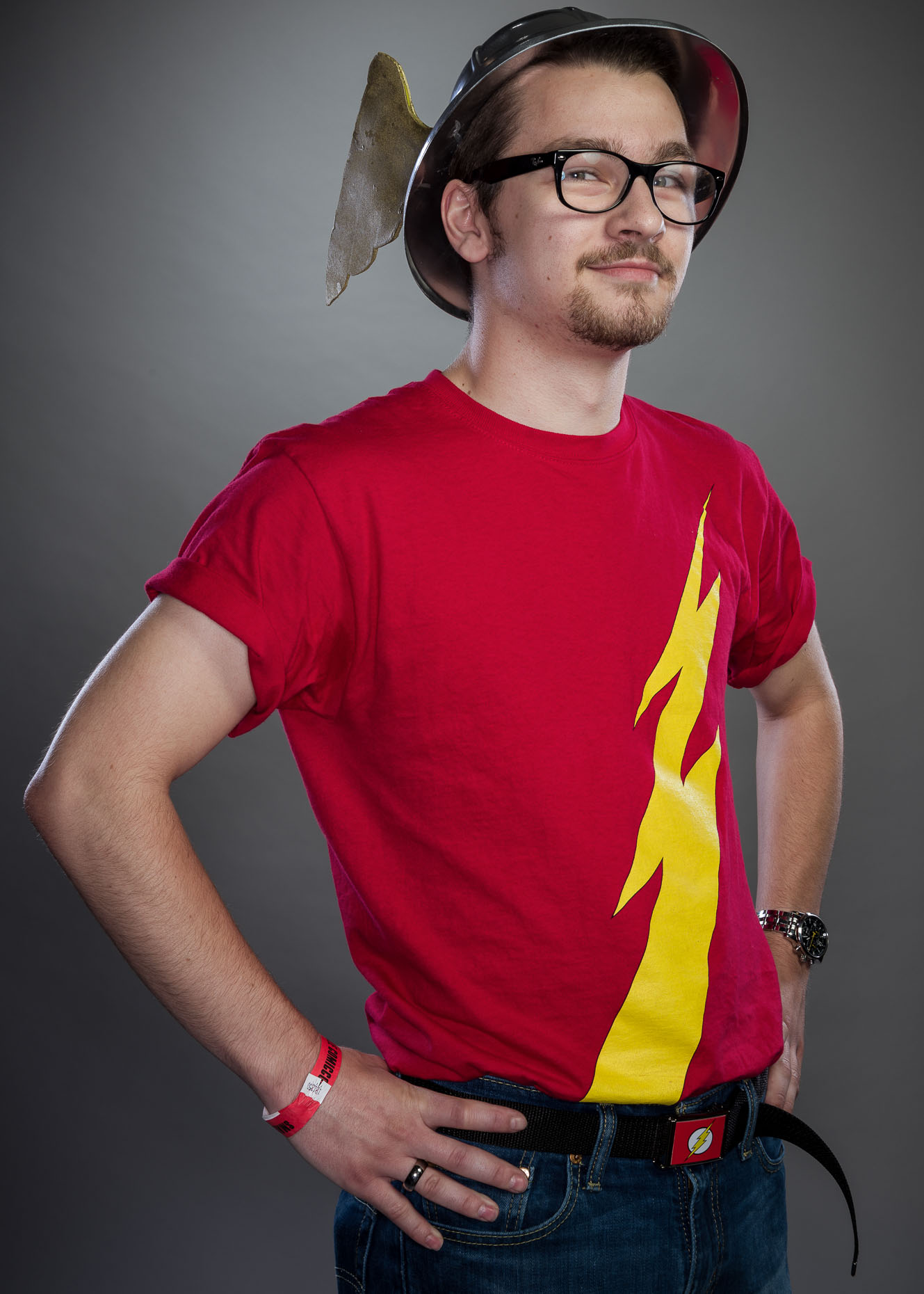 DC Retro Flash Cosplay