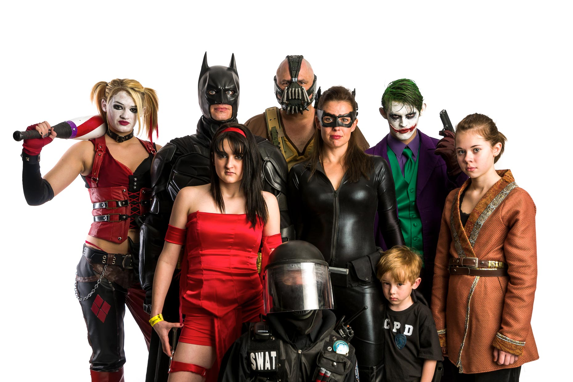 DC Family Cosplay