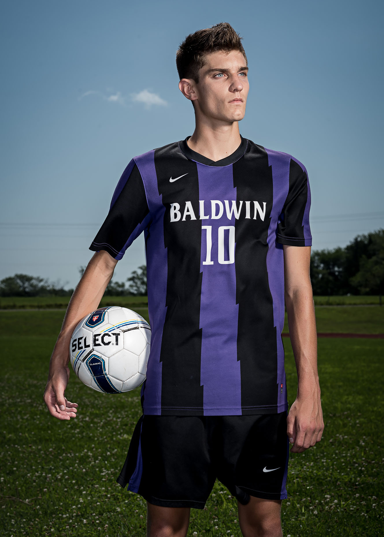Soccer player Brendan Owings for Ford UAW Community magazine