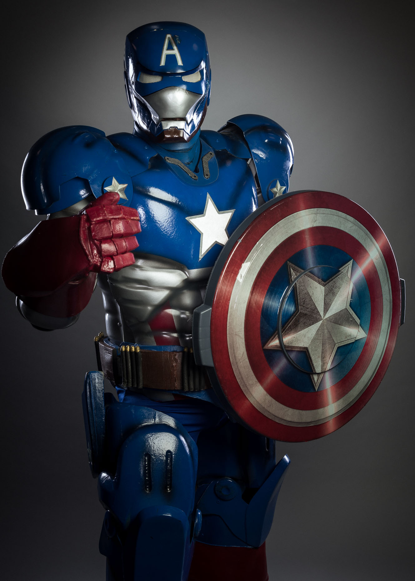 Marvel Iron Patriot Cosplay