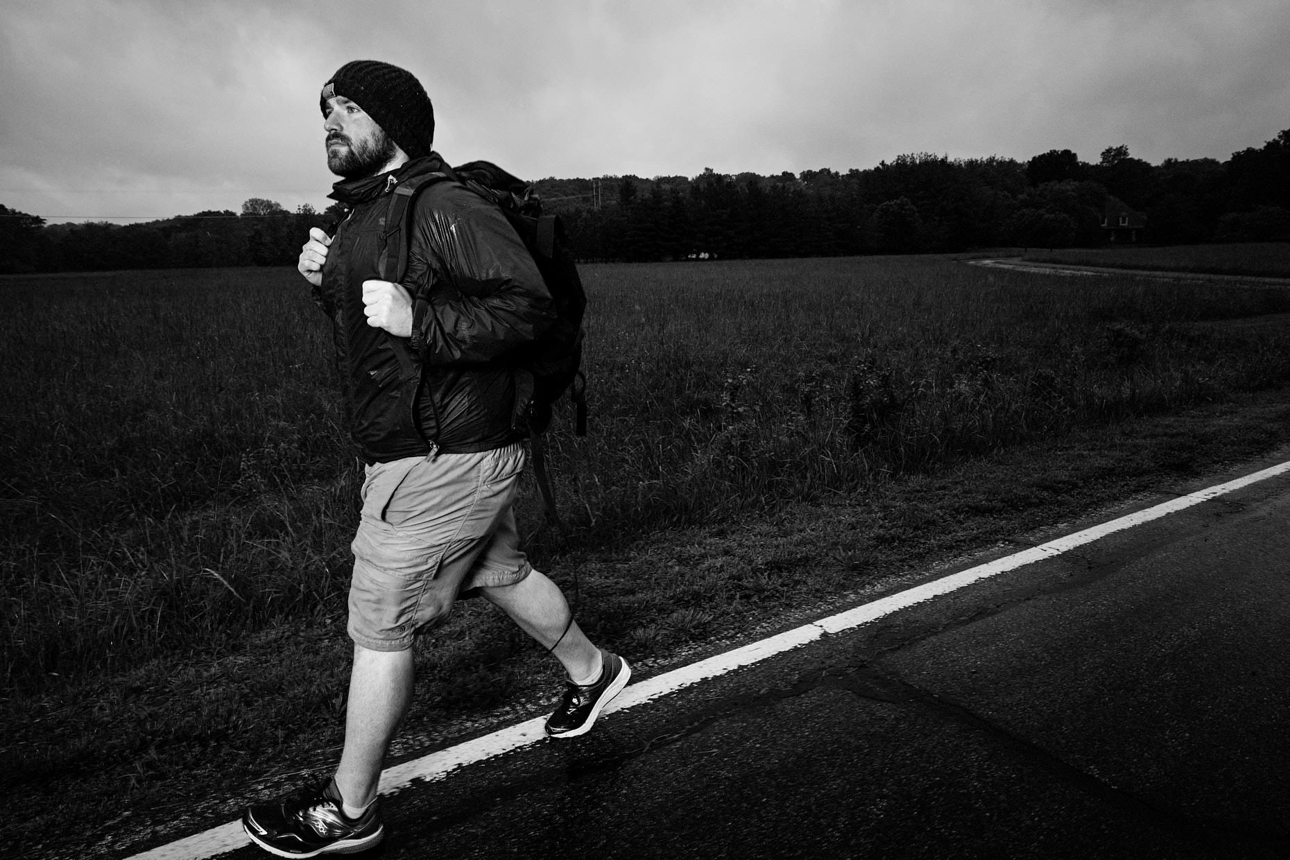 Jason Tracy - Editorial Photographer - Ben Davis Walking Across America