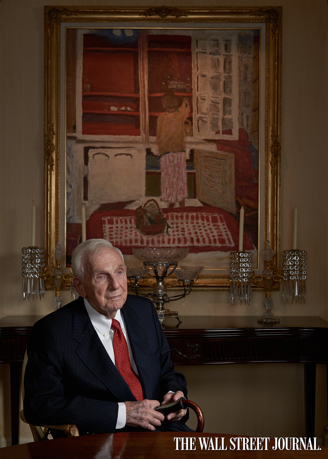 Jason Tracy - Editorial Photographer Kansas City - Henry Bloch for the Wall Street Journal