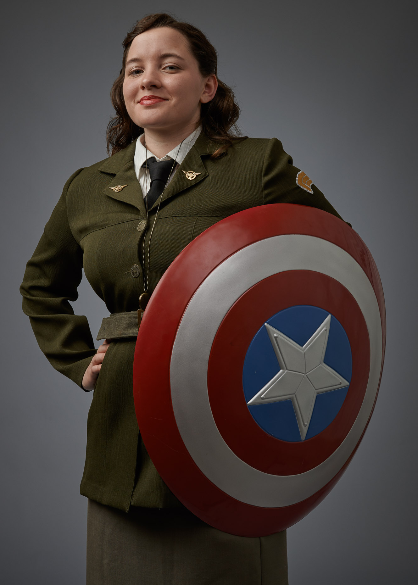 Cosplay Portrait Agent Peggy Carter