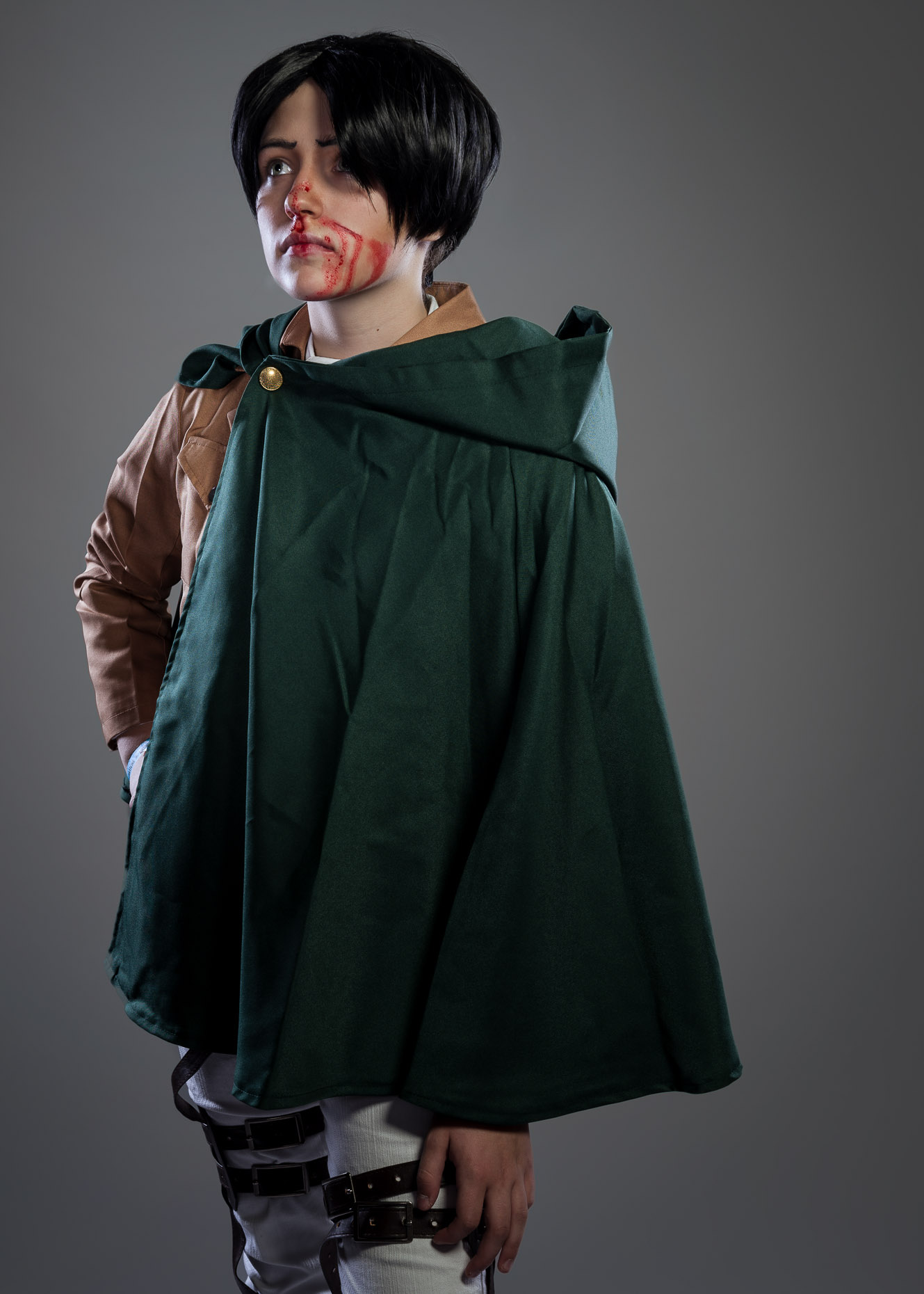 Attack on Titan Levi Cosplay Portrait